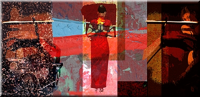 S2-410-Fear Not -  In omnia paratus[Ready for all things]-a-Mixed Media on canvas[76x37inches]194x94cm].jpg